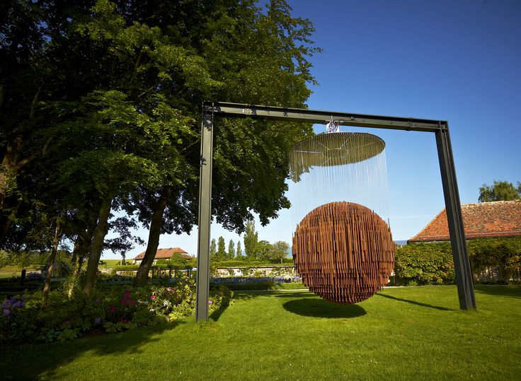 "Sculpture ""Bing Bang"" de Etienne Krähenbühl"