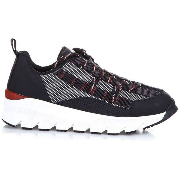 Canvas & Leather Sneakers ($548) ❤ liked on Polyvore featuring men's fashion, men's shoes, men's sneakers, black, menshoessneakers, mens canvas sneakers, mens leather shoes, mens black sneakers, christian dior mens sneakers and mens black leather shoes