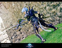 FFXIV Dragoon Cosplay - Esumi Aoi by ~Evil-Siren on deviantART