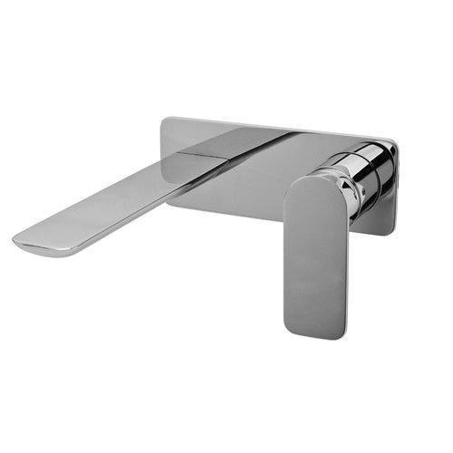 Sento Single Handle Wall Mount Bathroom Faucet | Wayfair