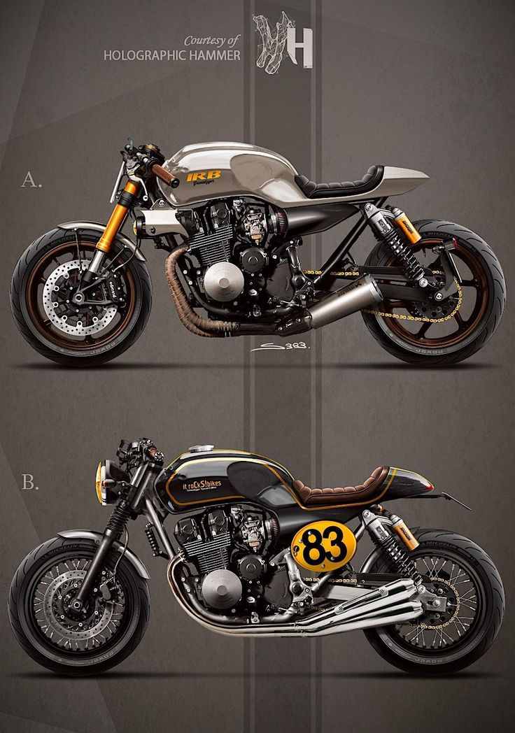 Honda CB750 by: Holographic Hammer