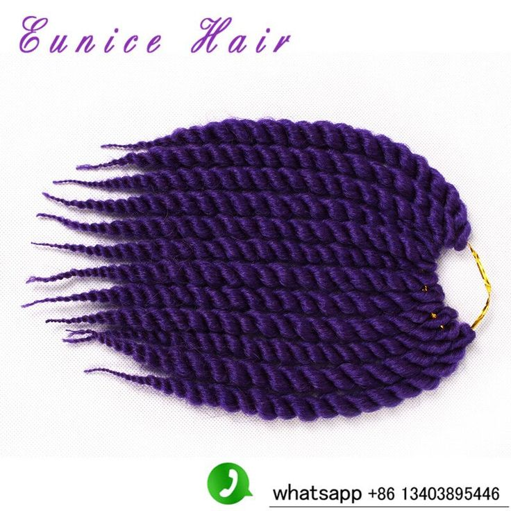 (3PACK/LOT)havana mambo twist crochet braid hair synthetic braiding hair extension 2016 hot sale hairstyles pre braided hair