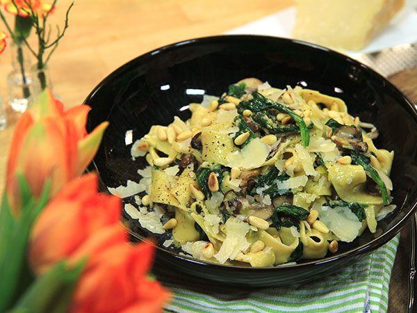 Svamppasta med tryffel och parmesan | Recept.nu