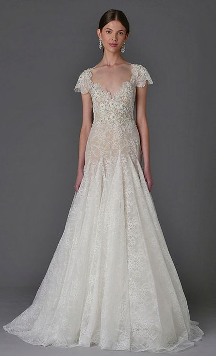 Featured Dress: MARCHESA; Pinterest Title: How Much Does A Wedding Dress  Cost On