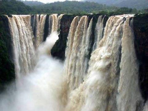 Goa Dudhsagar Waterfalls in Full Glory during Monsoon *HD* гоа дудхсагар...