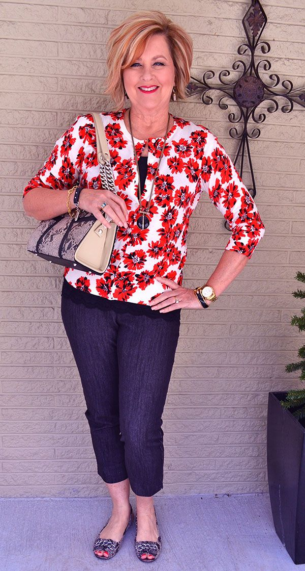 A mix of trendy, vintage and classic – A style interview with Tania   40plusstyle.com