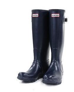 Navy Rain Boots