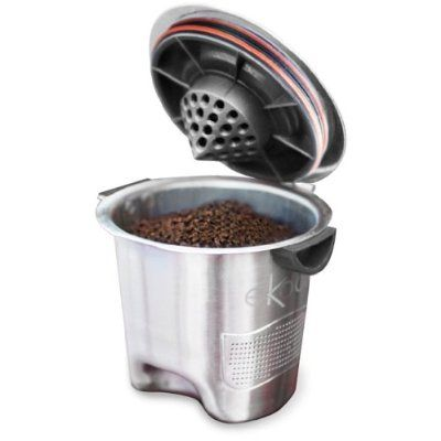Keurig K - Cup parallel imports refill cup coffee Ekobrew stainless steel cup