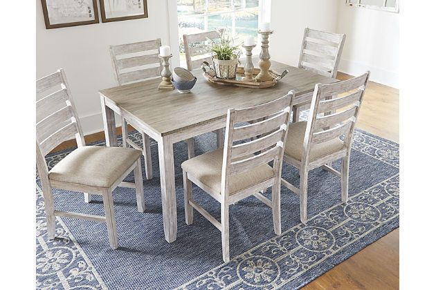 Skempton Dining Room Table And Chairs Set Of 7 Dining Room