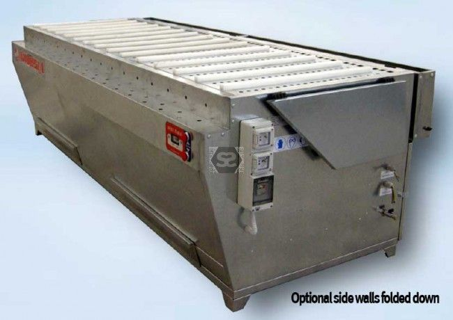 Ardesia Down Draft Dust Extraction Table 2m E Vers at Scott+Sargeant Woodworking Machinery / UK