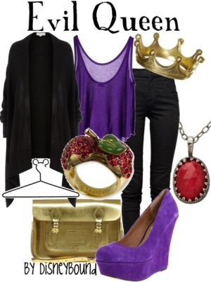 The Evil Queen from Snow White by lorena