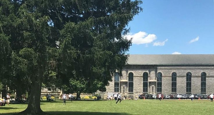 Vintage base ball game today at Ohio State Reformatory where The Shawshank Redemption was recorded