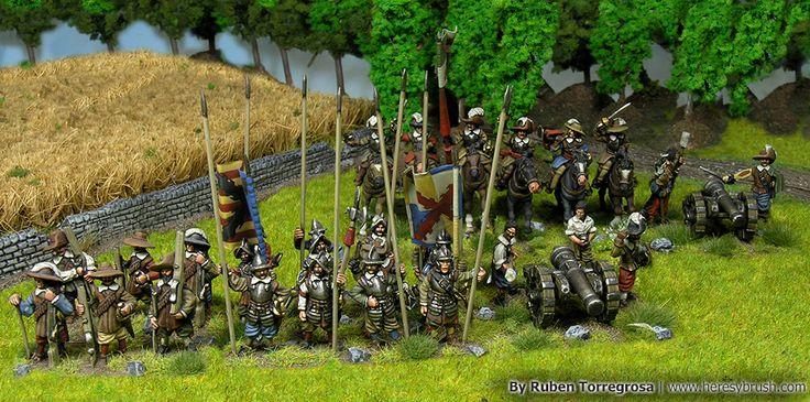 Como pintar artillería de la Guerra de los Treinta Años — How to paint Thirty Years War artillery