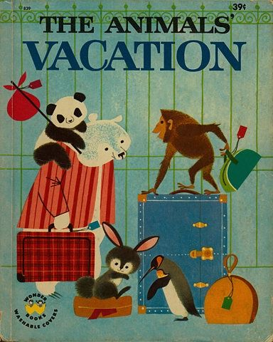 The Animals' Vacation - charming cover