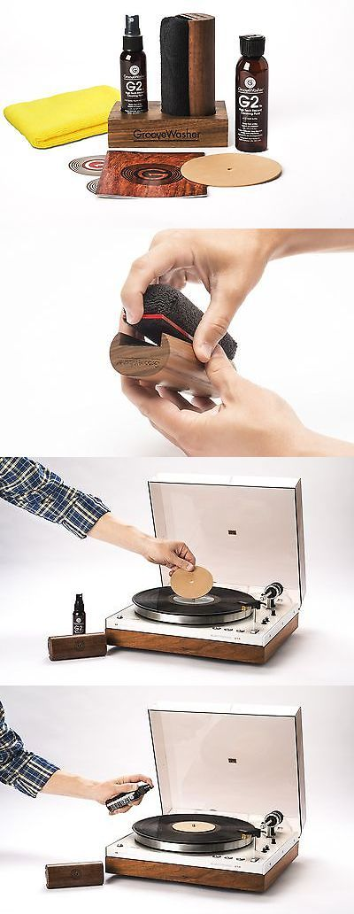 Vinyl Record Cleaning: Groovewasher Record Cleaning Kit And Display Block -New -Free Shipping -> BUY IT NOW ONLY: $94.16 on eBay!