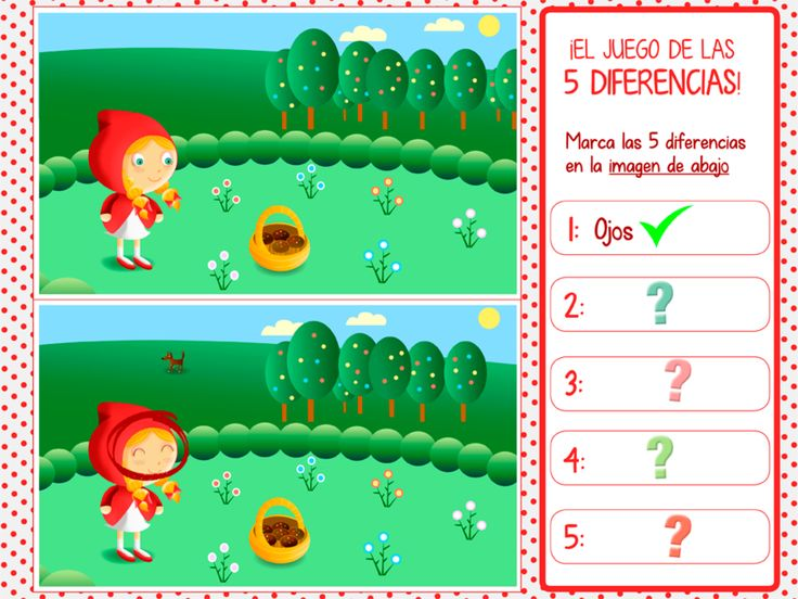"""Cuento infantil interactivo """"Caperucita Roja"""" 26"""