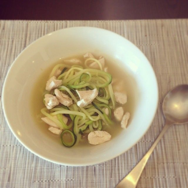 skinnymixer's Chicken Zoodle Soup