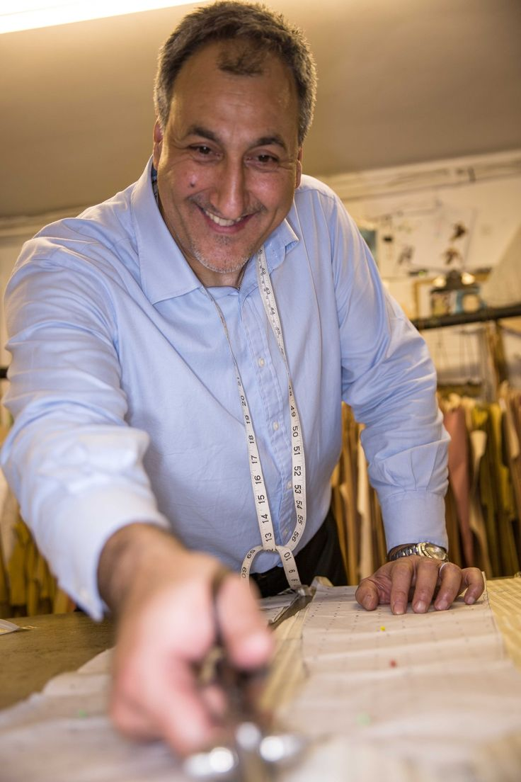 Orhan is excited to make one more garment