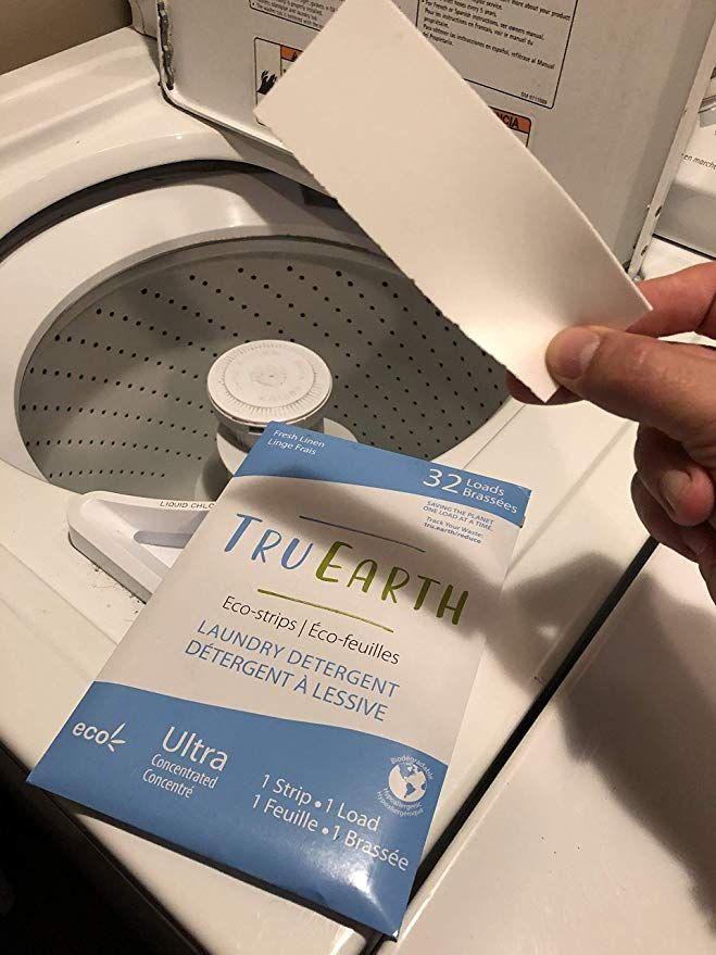 Amazonsmile Tru Earth Eco Strips Laundry Detergent Fresh Linen
