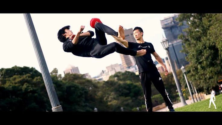 EXTREME Martial Arts Kicks and Tricking