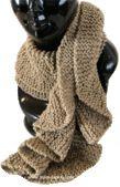 Tutoriales de bufandas o chalinas tejidas en dos agujas o palitos
