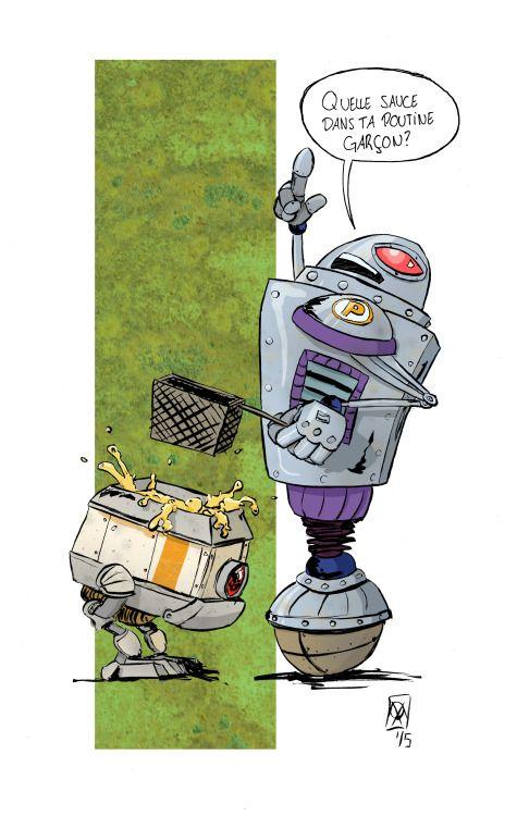 Poutine Robot