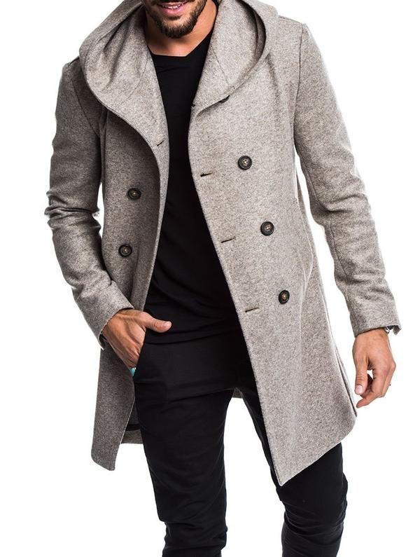 c9a5b2356 Babylon Mens Long Coat | Mens coats in 2019 | Mens wool coats ...