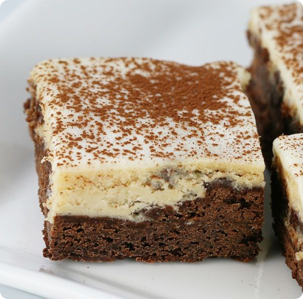 Espresso Cheesecake Brownies | Maybe one day I'll be the next Giada ...