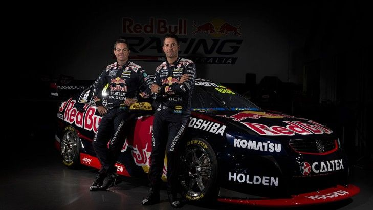 Whincup and Lowndes new cars 2015