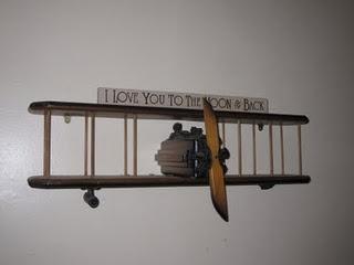 Nice Airplane Wall Shelf