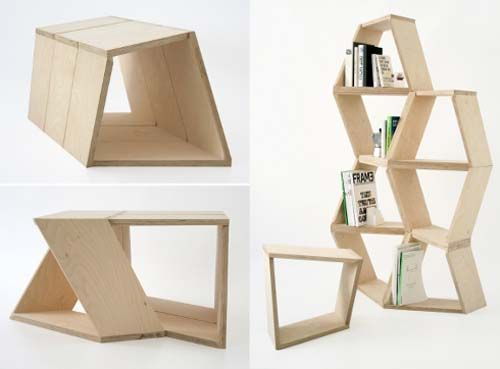 Making The Most Of Your Space. Plywood InteriorPlywood FurnitureModular ...