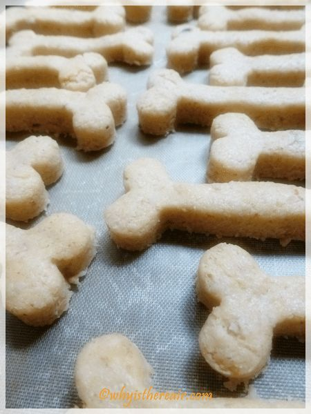 These bone shapes are ready for baking