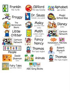 Classroom library basket labels to print