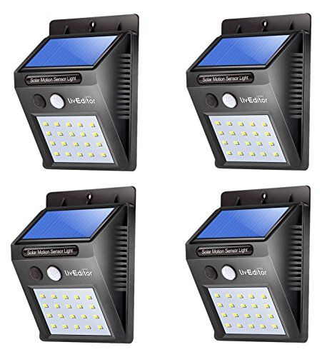 LivEditor Outdoor Solar Lights,Super Bright LED Motion Sensor Lights with Wide Angle Illumination, Wireless Waterproof Security Lights for Wall, Driveway, Patio, Yard, Garden -  4 Pack #LivEditor #Outdoor #Solar #Lights,Super #Bright #Motion #Sensor #Lights #with #Wide #Angle #Illumination, #Wireless #Waterproof #Security #Wall, #Driveway, #Patio, #Yard, #Garden #Pack