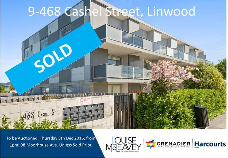 9-468 Cashel Street, Linwood #Auction
