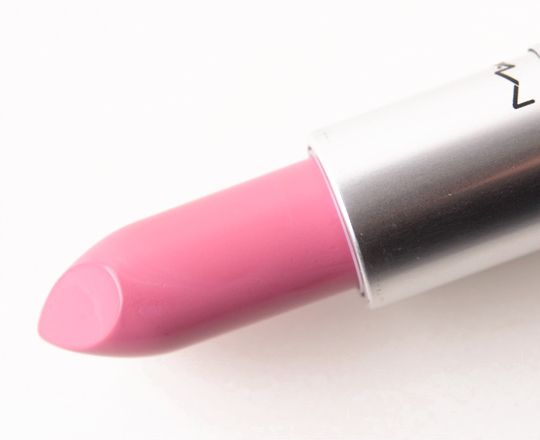 MAC Snob Lipstick, great pink shade that's bright but not too bright and over the top!
