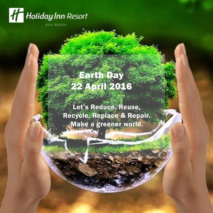 Happy Earth Day! Let's protect our home.  Earth Day is an annual event, celebrated on April 22, on which day events worldwide are held to demonstrate support for environmental protection. It was first celebrated in 1970, and is now coordinated globally by the Earth Day Network, and celebrated in more than 193 countries each year.  #holidayinn #holidayinnbalibenoa #resortbali #bali #hotelbali #travelling #travel #holiday #explorebali #balieveryday #bestvacation #vacation #balipromotion #2016…