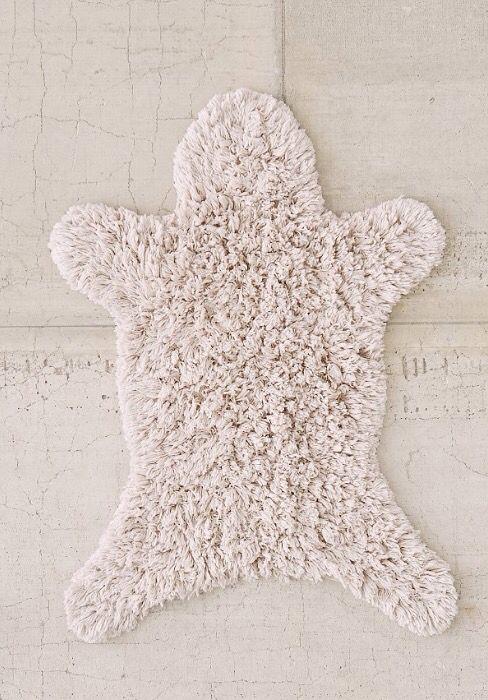 faux animal skin rug