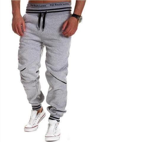 28dc426a64b25b Brand Men Pants Hip Hop Harem Joggers Pants 2018 Male Trousers Mens Joggers  Solid Pants Sweatpants Large size 4XL