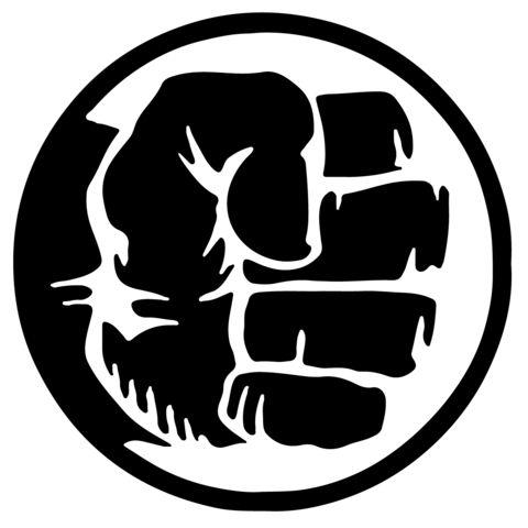 Marvel - Hulk Fist Vinyl Decal