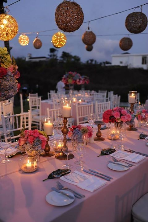75 best outdoor wedding images on pinterest glamping weddings beautiful table setting for outdoor wedding idea project by bali wedding paradise http junglespirit Gallery