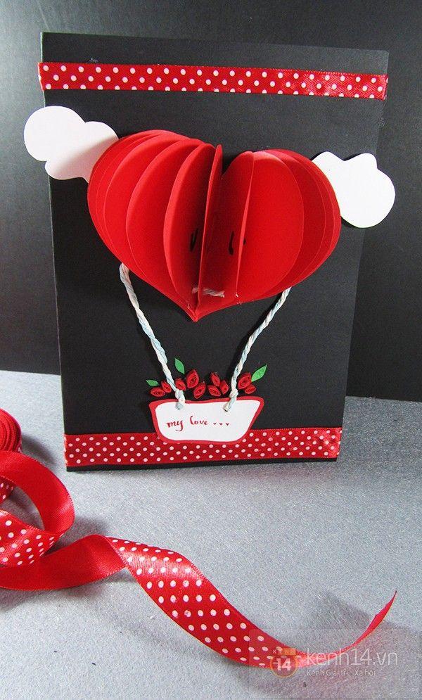 Valentine DIY card