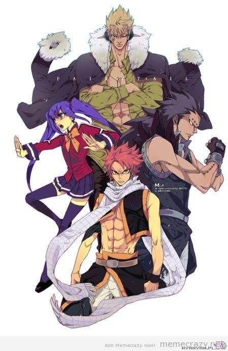 Fairy Tail Dragon Slayers | Fairy Tail's Dragon Slayers - Nyanyan - Otaku do Ataku!
