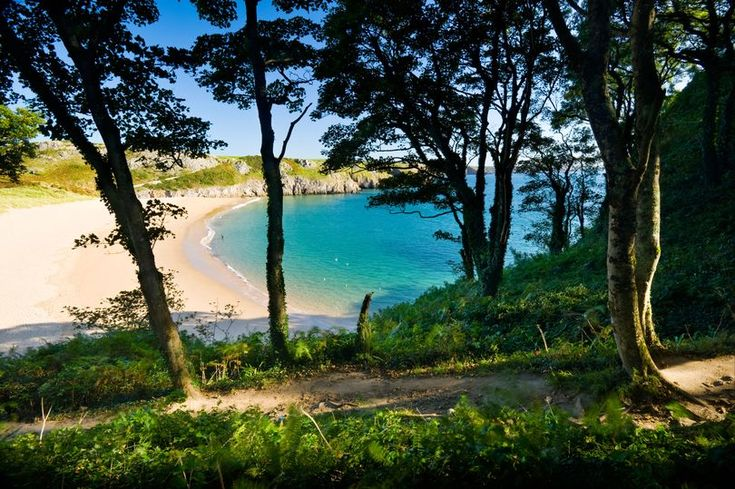 The beach was described as a 'visual overdose of beauty' and was one of only two in the UK named in the list