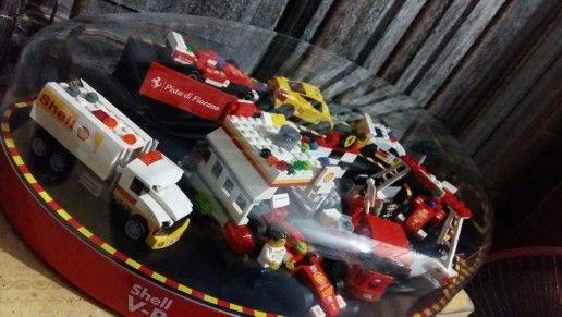 Shell Lego Ferrari