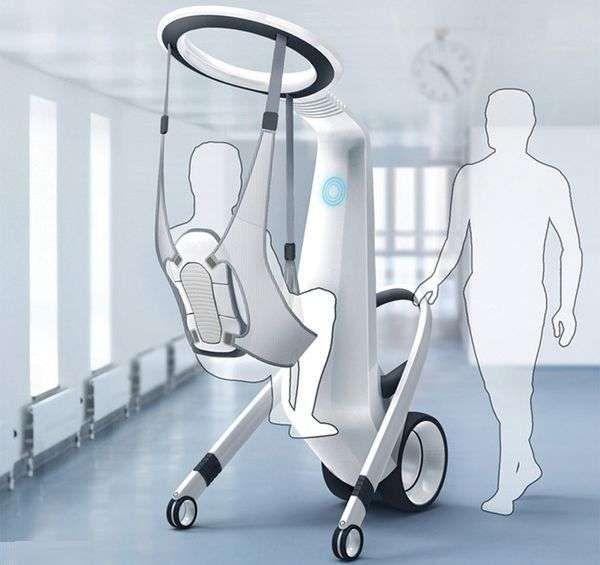Patient-Lifting Androids - The 'Medirobot' Medical Robotic Assistant Eliminates Discomfort