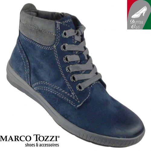 Marco Tozzi női bokacipő 2-25239-25 815 kék kombi