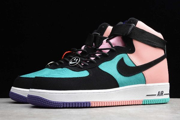 2019 Nike Air Force 1 High 07 Lv8 Have A Nike Day Pink Blue