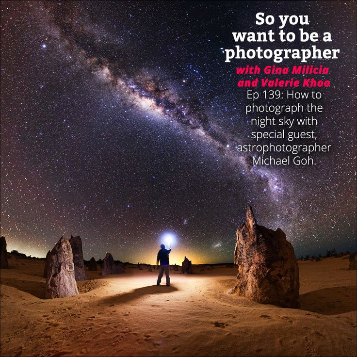 If you want to take mind-blowing photographs of the stars and the night sky, you can't go past the amazing work of astrophotographer Michael Goh. Whether you are taking time lapse shots or panoramic night-time landscapes, this award-winning photographer is generous with this tips on how to get the ideal photo. We chat to Michael so that we can bring his incredible techniques to you. Gina and Valerie love bringing this podcast to you. Hope you enjoy the podcast. Sign up to the newsletter for…