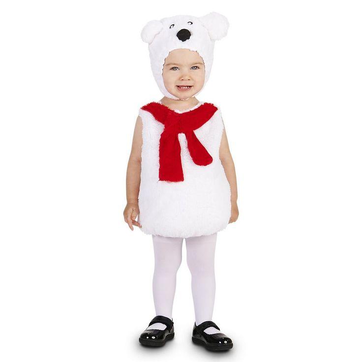 Baby Polar Bear Costume, Infant Girl's, Size: 18-24MONTH, Multicolor